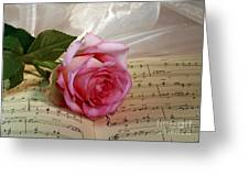 A Tribute To Diana Ross The Rose Greeting Card