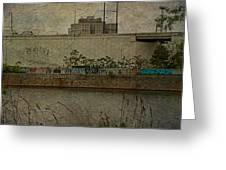 Across The Schuylkill River In Philadelphia - Pennsylvania - Usa Greeting Card