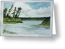 Allequash Lake Greeting Card