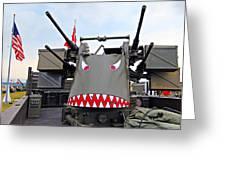 Anti-aircraft Guns Greeting Card