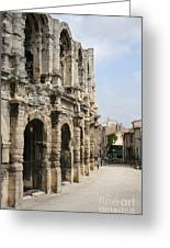 Arles Amphitheatre Greeting Card