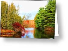 Aspetuck River Easton Ct Greeting Card