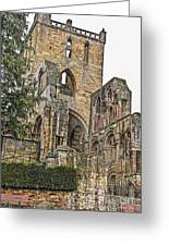 Augustinian Abbey Greeting Card