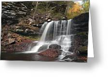 B. Reynolds Falls Under Turning Leaves Greeting Card