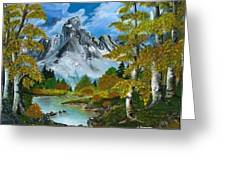 Beauty  Of  Aspens Greeting Card