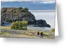 Beluga Point  Greeting Card