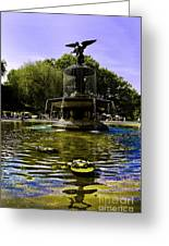Bethesda Fountain - Central Park  Greeting Card