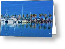 Blue Morning  Greeting Card