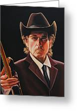 Bob Dylan 2 Greeting Card