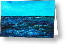 Body Of Water Greeting Card