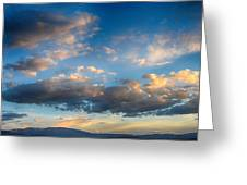 Breathtaking Colorado Sunset 2 Greeting Card