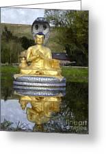 Buddha 25 Greeting Card