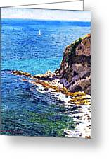 California Coastline  Greeting Card by David Lloyd Glover
