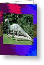 Canadian Dinosour Museaum    Canada Is Rich In Fossils Especially The Provinces Of Alberta And Bri Greeting Card