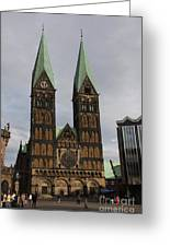 Cathedral Bremen - Germany Greeting Card