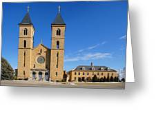 Cathedral Of The Plains Greeting Card
