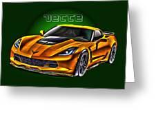 Chevrolet Corvette Z06 Greeting Card