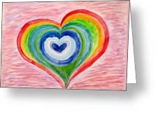 Colourful Dreams Greeting Card