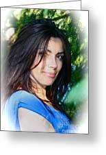 Corazon Espinado - Black Magic Women - Adel. Greeting Card