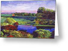 Country View Estate Greeting Card