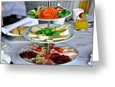 Decorative Food Greeting Card