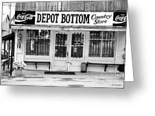 Depot Bottom Country Store Greeting Card by   Joe Beasley