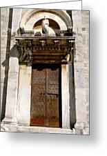 Doorway To The Duomo Greeting Card