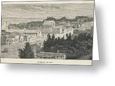 Dunedin  General View        Date 1870 Greeting Card