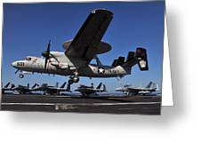 E2c Hawkeye Greeting Card