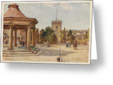 Enfield, Middlesex         Date 1907 Greeting Card