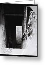 Ephrata Cloisters Stairway Greeting Card