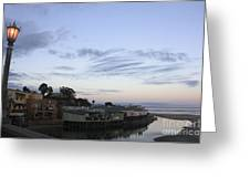 Evening In Capitola Greeting Card