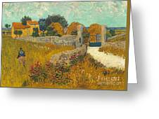 Farmhouse In Provence Greeting Card