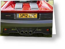 Ferrari Sp12 Ec Greeting Card