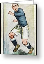 Fred Keenor, Player For Cardiff City Greeting Card