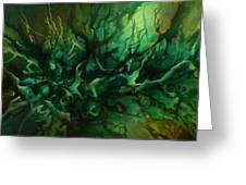 ' Garden Of Dreams ' Greeting Card by Michael Lang