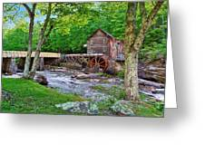Glade Creek Gristmill Greeting Card