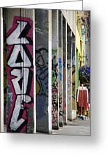 Graffiti Love Greeting Card