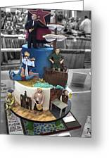 Grand National Wedding Cake Competition 741 Greeting Card