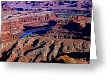 Grand View Point Overlook Greeting Card
