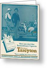 Herbert Tareyton Cigarettes - There's Greeting Card