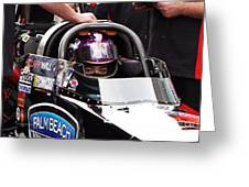 Hillary Will Las Vegas Motor Speed Way Strip Nhra Finals 2008 Greeting Card