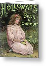Holloway's Pills And Ointment Greeting Card