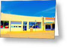 Hopper Garage Greeting Card