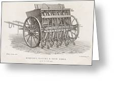 Hornsby's Drill Designed To Be  Used Greeting Card