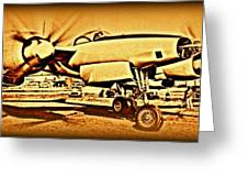 Howard Hughes And The Hughes Xf-11 Greeting Card