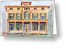Italianate House Ny Greeting Card