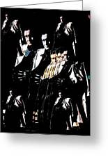 Johnny Cash Multiplied  Greeting Card