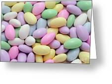 Jordan Almonds - Weddings - Candy Shop Greeting Card