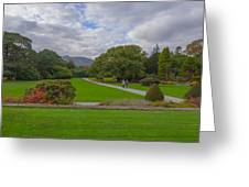 A Irish Garden Greeting Card by Pro Shutterblade